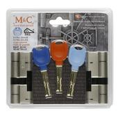 Cylindre de sécurité SKG***  M&C 32/42 2 pièces