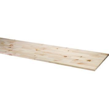 Panneau de charpenterie Eliotty FSC 18 mm 200x40 cm