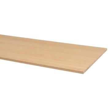 CanDo meubelpaneel beuken pefc 2-zijdig afgekant aan lange zijden 250x60 cm 18 mm
