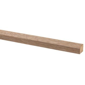 Glaslat hardhout fsc 19x16 mm 270 cm