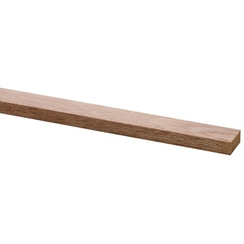 Lat hardhout geschaafd fsc 12x27 mm 210 cm