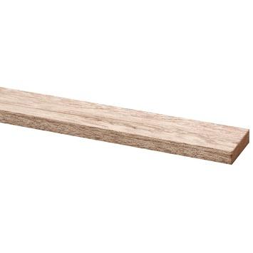 Lat hardhout geschaafd fsc 12x44 mm 210 cm