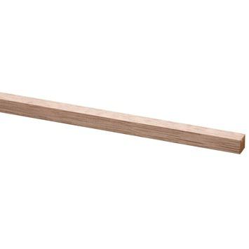 Lat geschaafd hardhout fsc 12x12 mm 210 cm