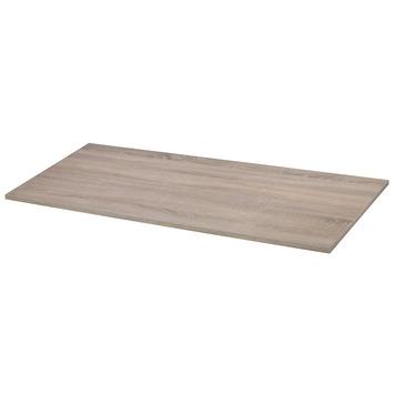 Panneau de meuble CanDo 18 mm 120x50 cm chêne bronze