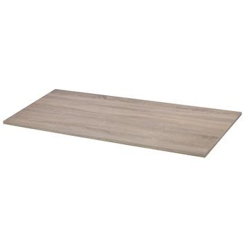 Panneau de meuble CanDo 18 mm 80x50 cm chêne bronze