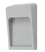 Applique extérieure Ana Light Topps LED intégrée 10 W 600 Lm gris clair