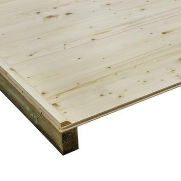Vloer voor tuinhuis 230x280/57 cm