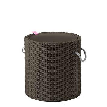Keter Cool Stool taupe Ø 43 cm 43x44 cm