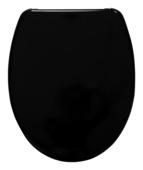 Handson Usko wc bril met softclose zwart duroplast