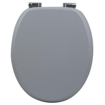 Handson Antero wc bril met softclose grijs uni MDF