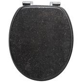 Abattant WC MDF granit soft-close Handson Antero