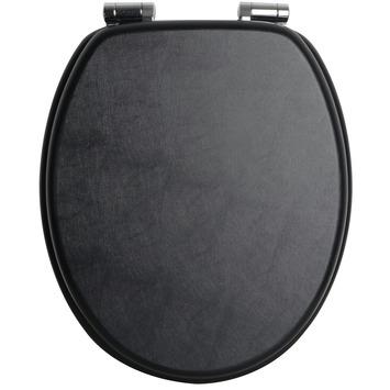 Handson Antero wc bril met softclose leder mdf