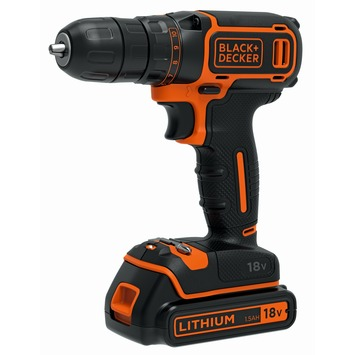 Black+Decker accuboormachine 18V Li-ion BDCDC18B-QW