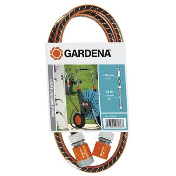 """Gardena tuinslang flex 1/2"""" 1,5 m met accessoires"""