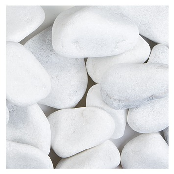 Grind Keien Carrara Wit 60-100 mm - 62 Zakken á 20 kg