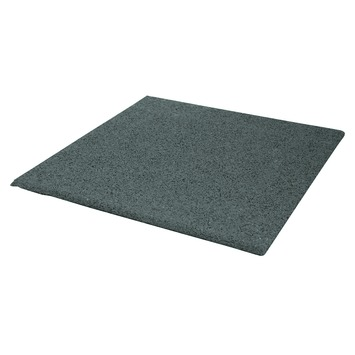 Terrastegels 40x40 Grijs.Terrastegel Rubber Grijs 40x40 Cm 240 Tegels 38 40 M2