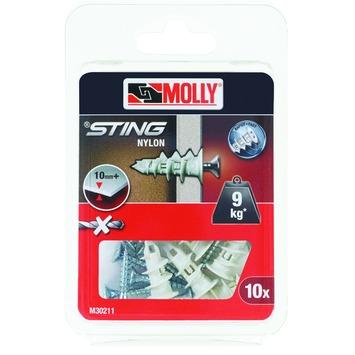 Molly Piranha nylon indraaiplug M30211-XJ