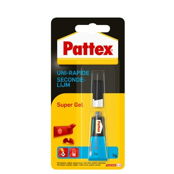 Pattex secondelijm supergel 3 g