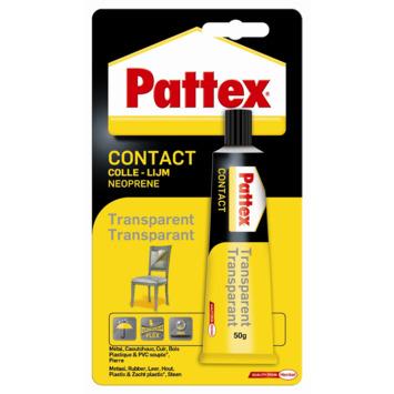 Colle de contact Pattex transparent 50 g