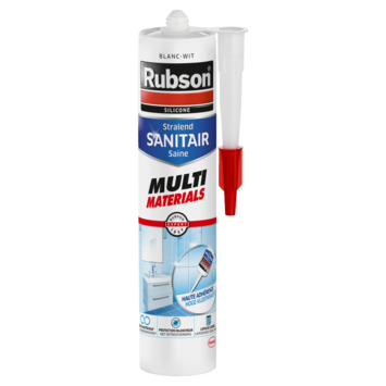 Rubson Sanitairkit Multi materials wit 280 ml