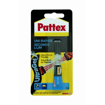 Colle uni-rapide ultragel Pattex 3 g