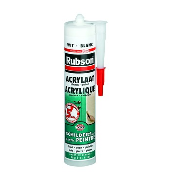 Rubson voegkit acrylaat wit 300 ml