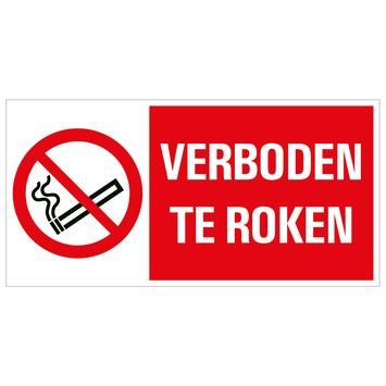 Pickup bord 15x30 cm verboden te roken