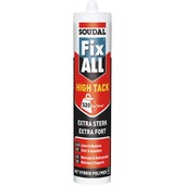 Soudal Fix All montage- en afdichtingskit high tack wit 290 ml