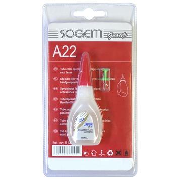 Sogem speciale lijm voor aluminium toebehoren A22