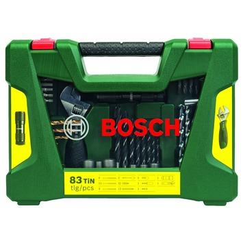 Jeu d'accessoires V-line Bosch 83 pièces
