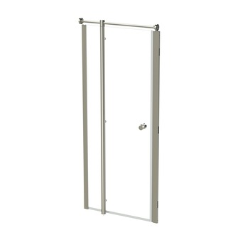 Tiger Boston douche nisdeur 213,5x90 cm inox