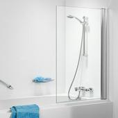 Pare-baignoire 1 volet Getwet C105 70x140 cm verre transparent