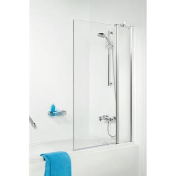 Get Wet badklapwand S105 2-delig 140x100 cm chroom