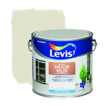 Peinture Mur Extérieur Levis satin blanc fermette 2,5 L