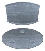 Kit de montage magnétique détecteur de fumée, gaz ou chaleur Smartwares RMAG4
