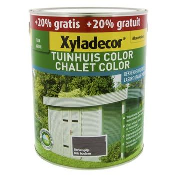 Xyladecor Tuinhuis kleur berkengrijs 2,5 l + 0,5 l
