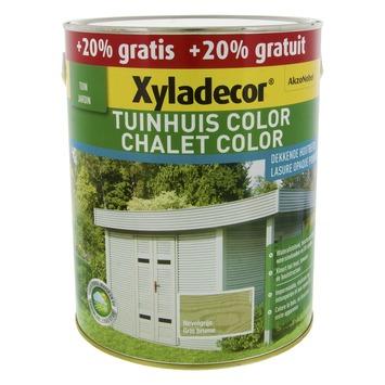 Xyladecor Tuinhuis kleur nevelgrijs 2,5 l + 0,5 l