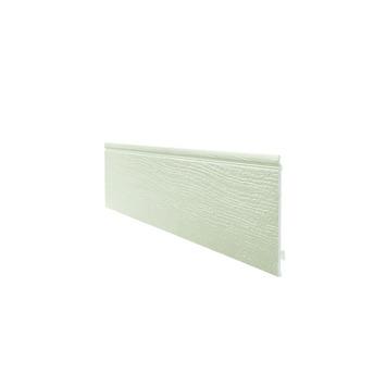 Ensemble Easyfix clin de bardage simple Durasid RAL1015 250x16,7 cm 4 pièces 1,67 m²