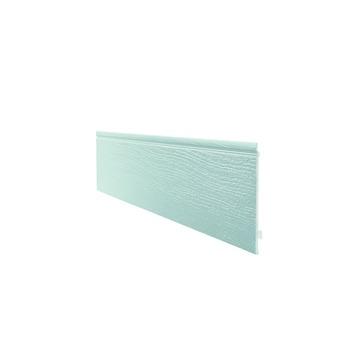 Ensemble Easyfix clin de bardage simple Durasid RAL7035 250x16,7 cm 4 pièces 1,67 m²