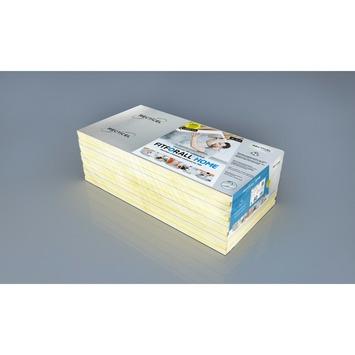 Recticel Fitforall PIR-isolatieplaat 120x60 cm 30 mm tand en groef R=1,35  4,32 m²