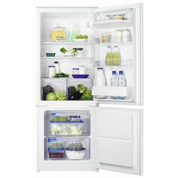 Zanussi koelkast met vriezer ZBB24431SA 144 cm 160 + 57 l
