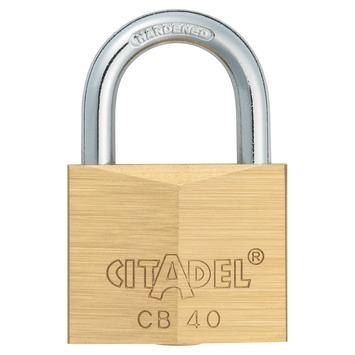 Abus Citadel hangslot 40 mm messing