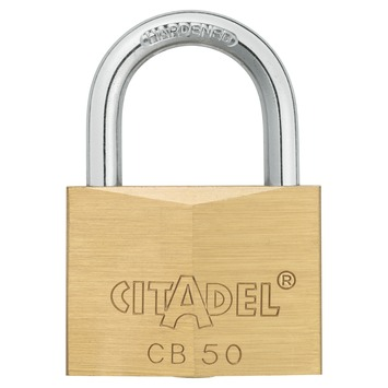Abus Citadel hangslot 50 mm messing