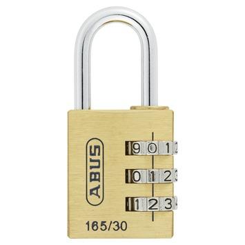Cadenas à code Abus 165/30 laiton 30 mm