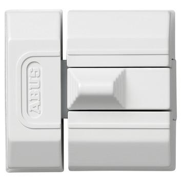 Targette de porte solide Abus SR30 métal blanc