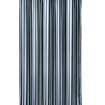 GAMMA douchegordijn streep textiel 180x200 cm