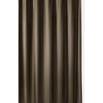 GAMMA Milan douchegordijn textiel polyester bruin 180 x 200 cm
