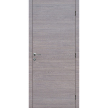 Binnendeurblad Senza horizontaal grijze eik 201,5x83 cm laminaat