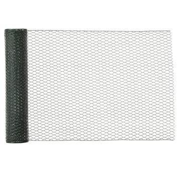 Handson zeskant gaas geplastificeerd 5 m x 50 cm 13 mm
