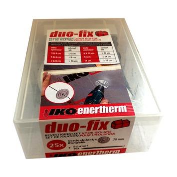 Iko enertherm set de fixation d'isolation 8 cm 25 pièces
